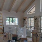 בית בתהליך בנייה